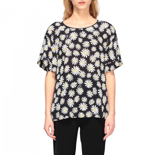 T-shirt Boutique Moschino a maniche corte con stampa margherite