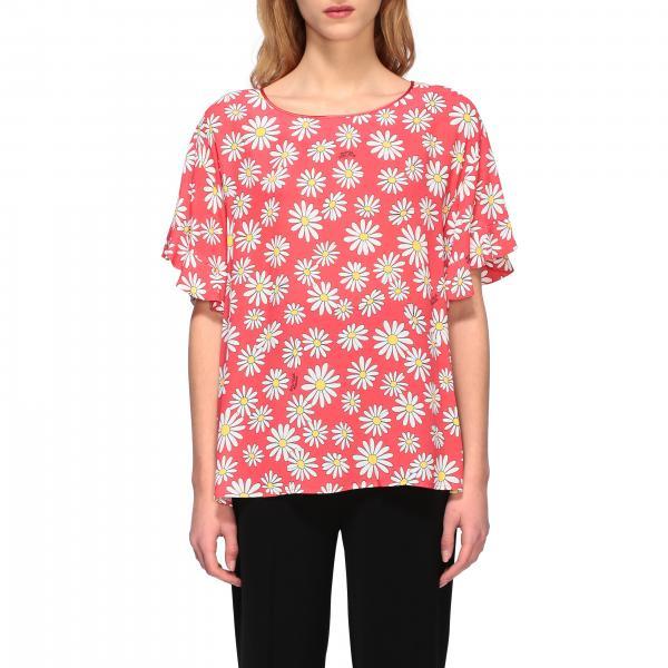 T-Shirt top women boutique moschino Boutique Moschino - Giglio.com