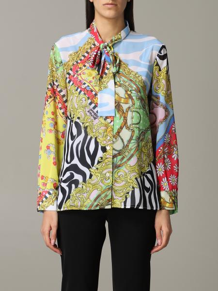 Boutique Moschino shirt with mix of prints