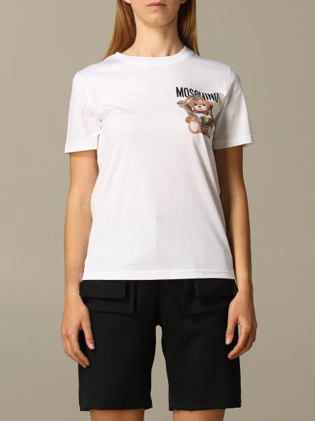 Moschino Couture T-Shirt mit Teddy
