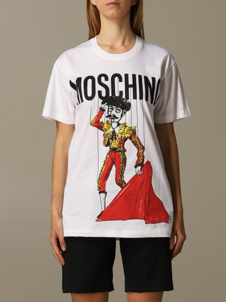Moschino Couture 印花logo T恤