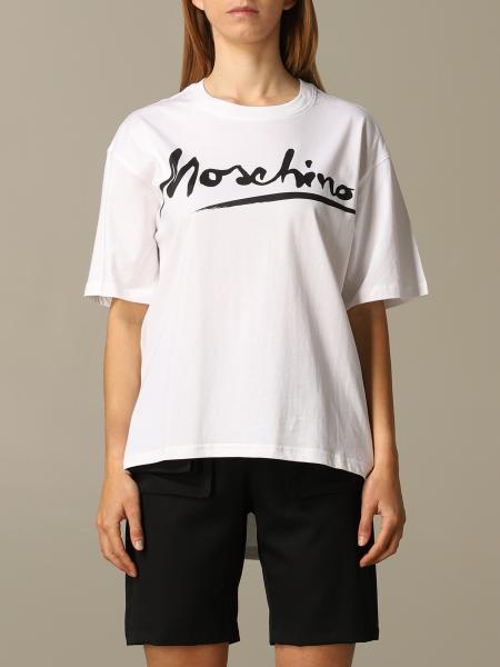 T-shirt Moschino Couture con big logo