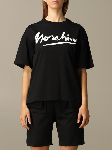Moschino Couture logo T恤