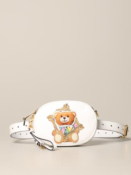 Moschino Couture belt bag with teddy frame