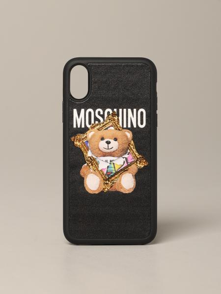 Moschino Couture teddy frame iPhone X / XS case
