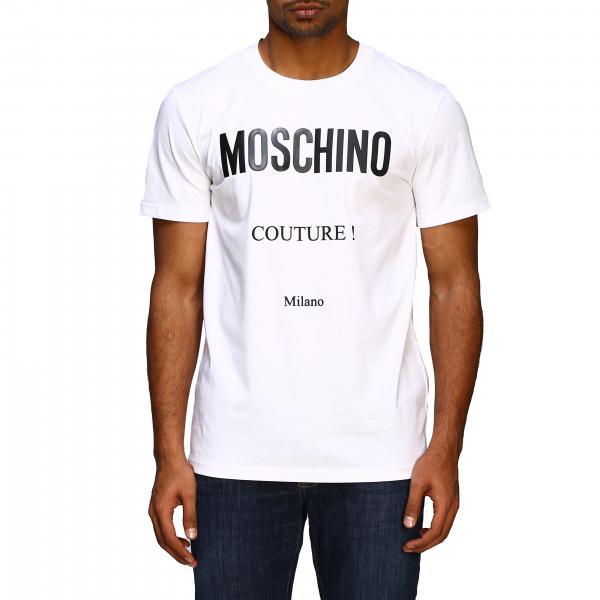 T-shirt Moschino Couture a maniche corte con logo Couture