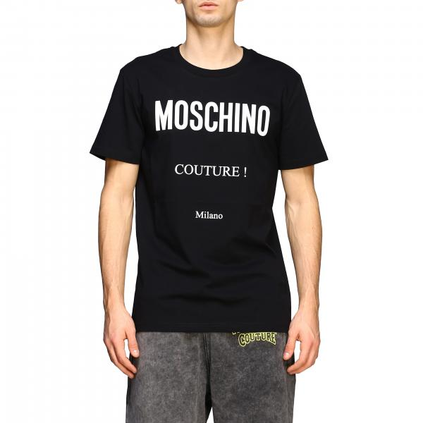 Moschino Couture short-sleeved T-shirt with Couture logo