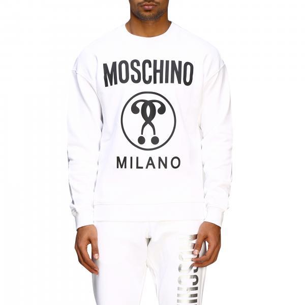 Felpa Moschino Couture a girocollo con logo