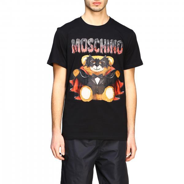 T-shirt Moschino Couture a maniche corte con stampa bat teddy