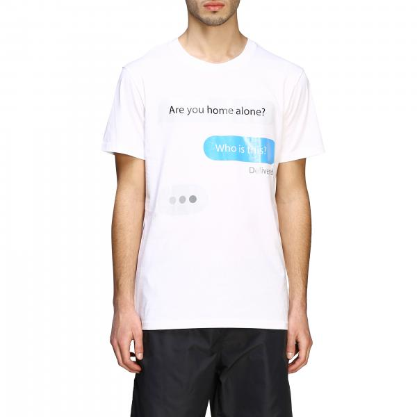 Moschino Couture short-sleeved T-shirt with i message print