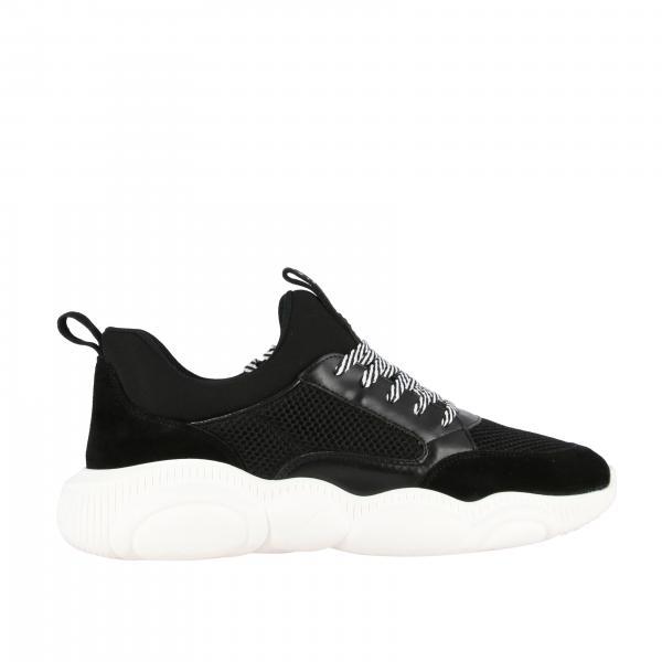 Sneakers Moschino Couture con suola Teddy
