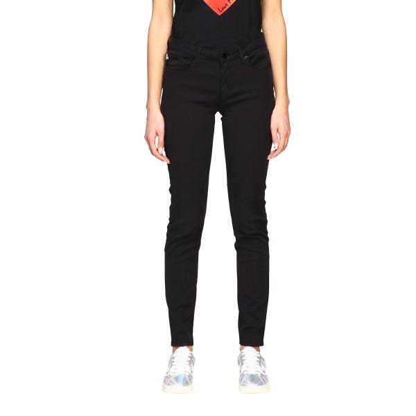 Pantalone Love Moschino a 5 tasche skinny fit