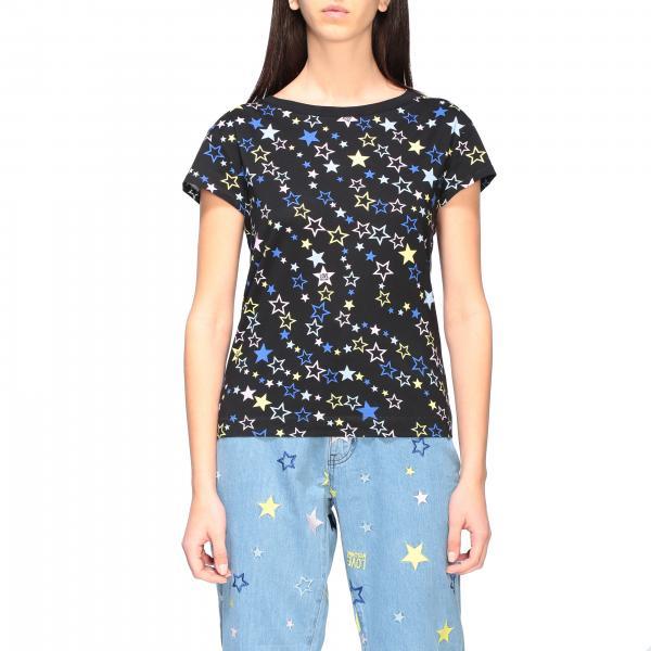T-shirt Love Moschino a maniche corte con stampa stelle