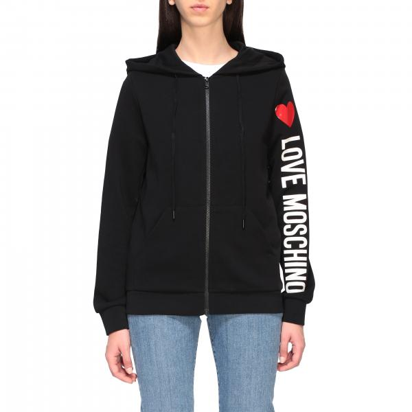Love Moschino sweatshirt with logo print