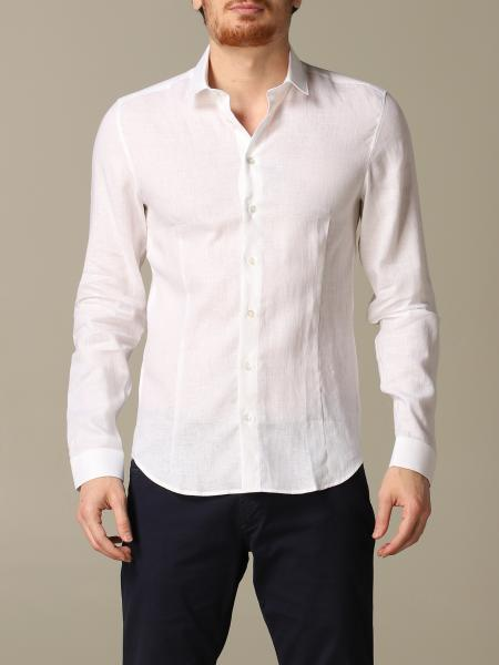 Patrizia Pepe shirt with Italian linen collar