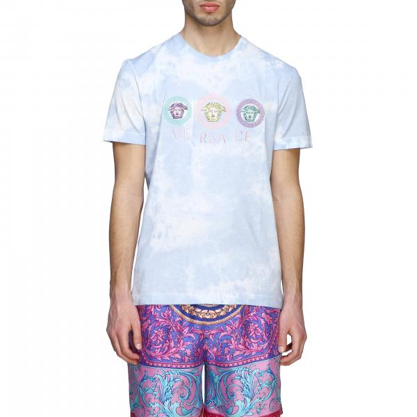 T-shirt Versace tye die con meduse
