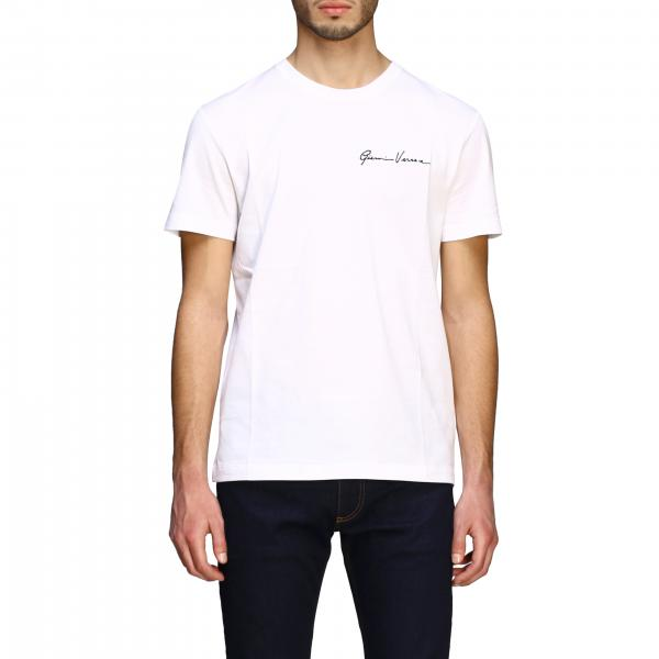 Versace short-sleeved T-shirt with Gianni Versace signature