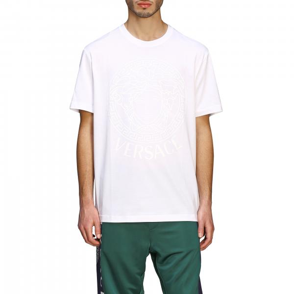 Versace short-sleeved T-shirt with big jellyfish head