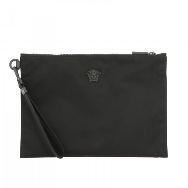 Сумка из нейлона с логотипом Мужское Versace