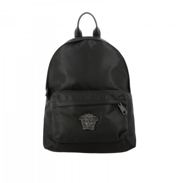 Versace nylon backpack with jellyfish head