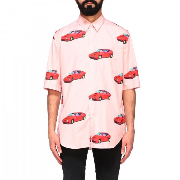 Versace short-sleeved shirt with how much do they cost print