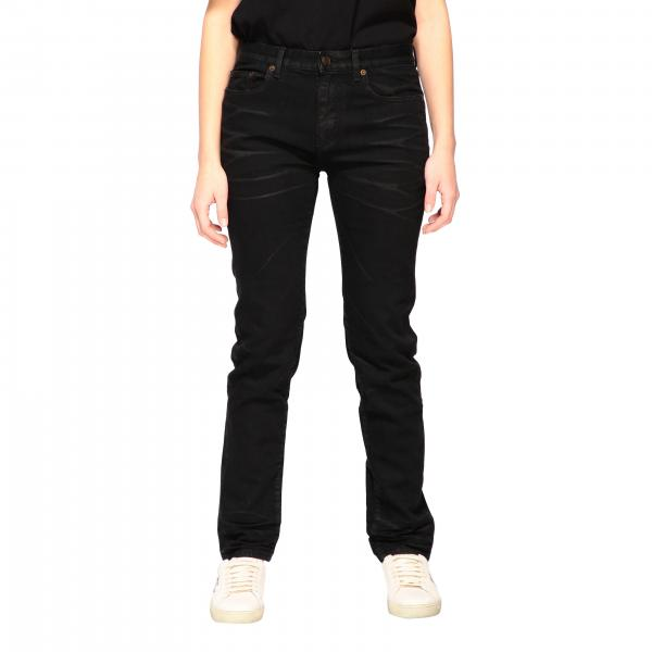 Saint Laurent 5-pocket slim fit jeans