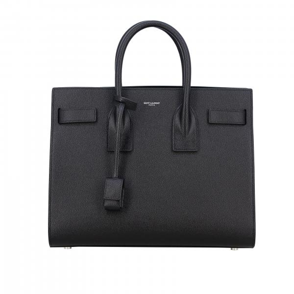 Saint Laurent Sac De Jour bag in grain de poudre leather