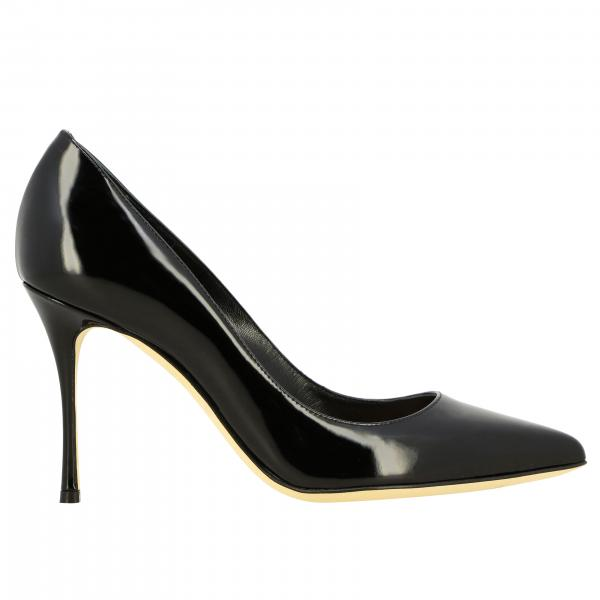 Godiva Sergio Rossi pumps in painted leather