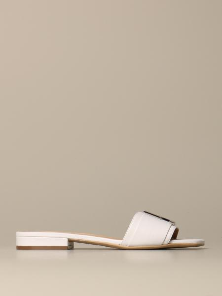 Sergio Rossi Logomaniac sandal in leather