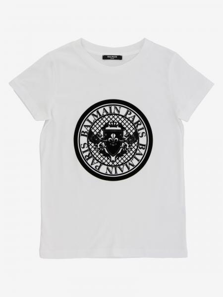 Balmain logo印花T恤