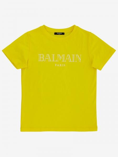 T-shirt Balmain a maniche corte con stampa logo