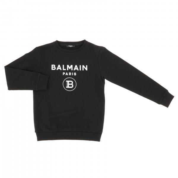 Balmain crewneck sweatshirt with logo print