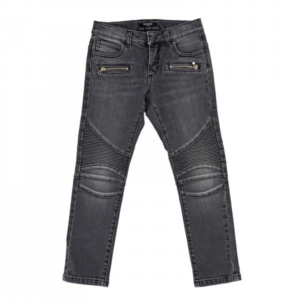 Jeans Balmain en denim usé