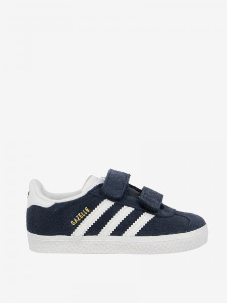 Sneakers Gazelle Adidas Originals in camoscio con logo