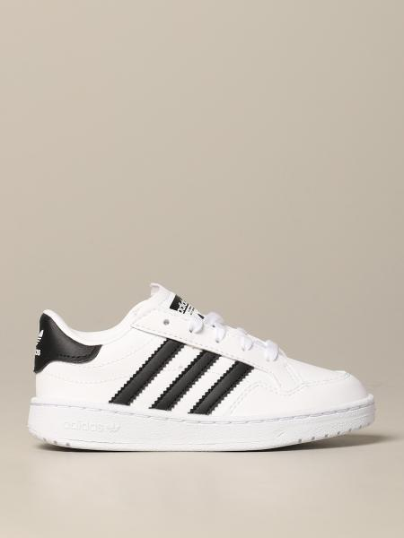 Tim Adidas Originals Leder Sneakers mit Logo