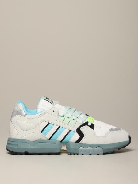 Adidas Originals Zx Torsions Sneakers aus Mesh und Wildleder