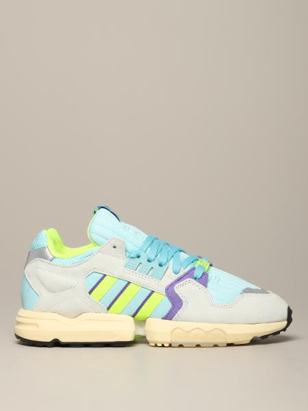 Adidas Originals Zx Torsions-Sneakers aus Mesh und Wildleder