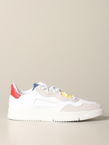 Adidas Originals Supercourt Sneakers aus Leder und Wildleder