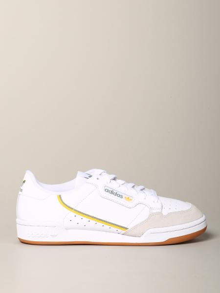 Continental 80 Adidas Originals Sneakers aus Leder und Wildleder