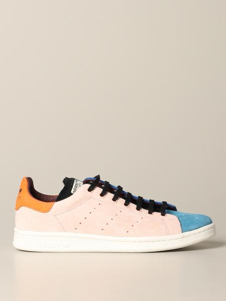 Stan Smith Adidas Originals Sneakers aus farbigem Wildleder