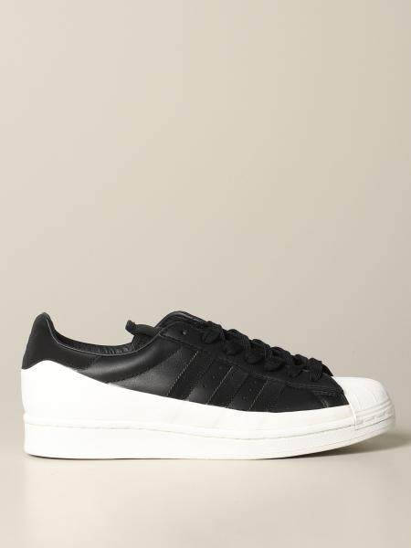 Adidas Originals Superstar Sneakers aus Leder mit Logo