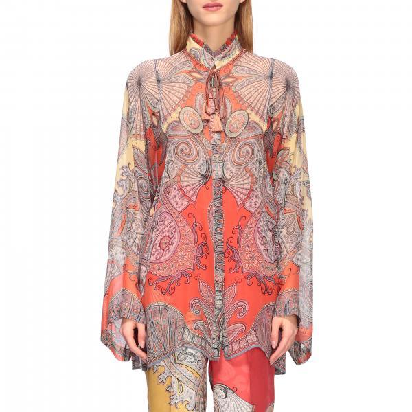 Рубашка с принтом Женское Etro