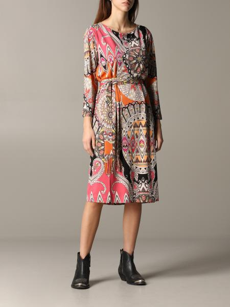 Manica 3/4 jersey stampa paisley con cinta