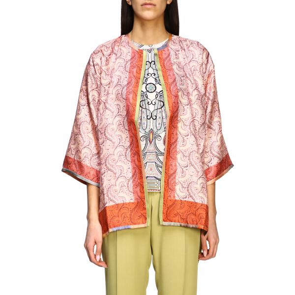 Etro ethnic patterned cardigan in silk