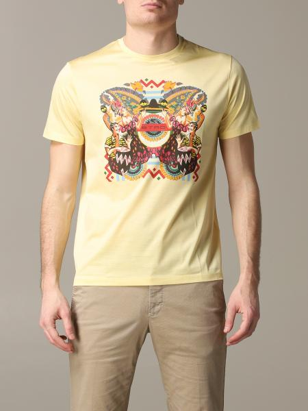 Etro short-sleeved T-shirt with Mexican print