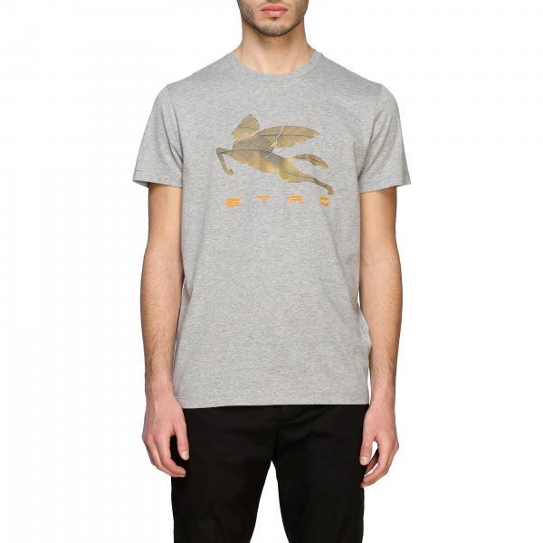 Etro T-shirt with big pegasus print