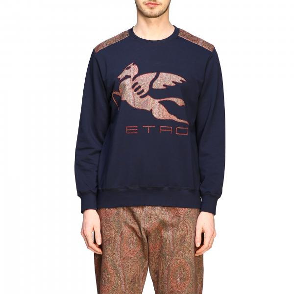 Sweat Etro avec incrustation logo pegaso