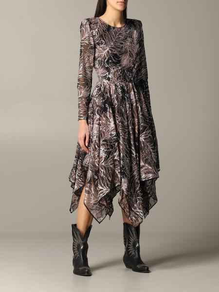 Etro 不对称设计长款连衣裙
