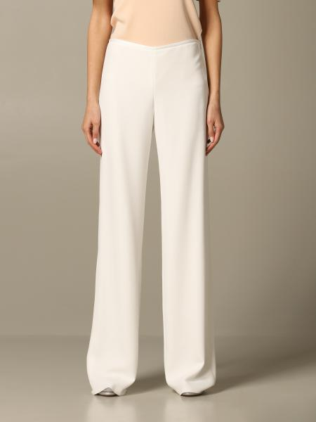 Emporio Armani wide and fluid trousers