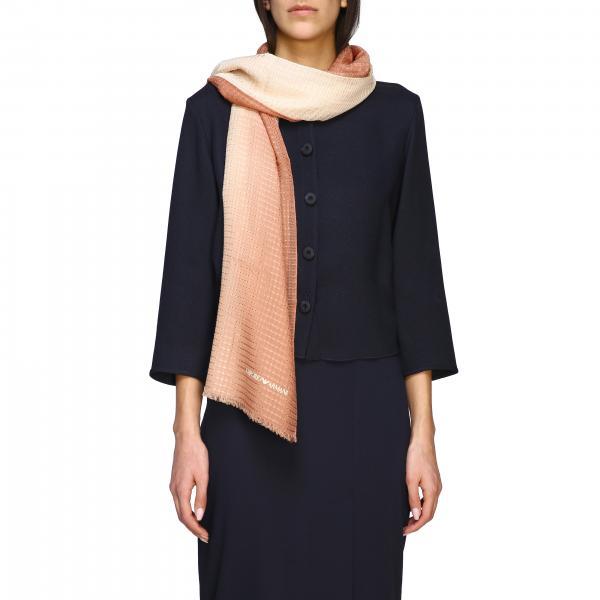 Emporio Armani scarf with logo